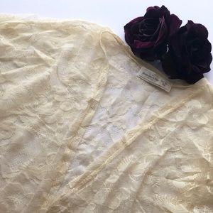 Abercrombie Lace Kimono